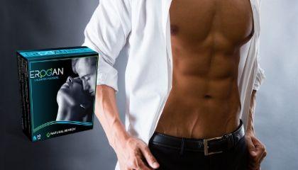 Erogan kapszulák garantáltan javítja a férfiak merevedési funkcióját